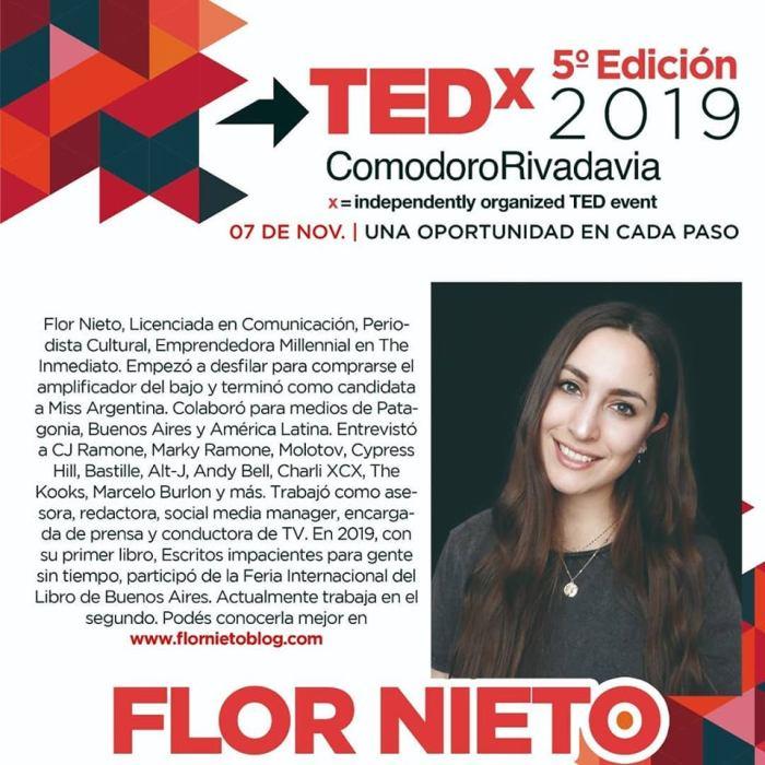tedxcomodororivadavia_flornieto